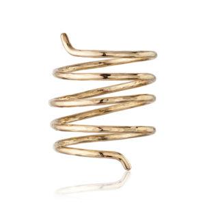 espiral oro frente