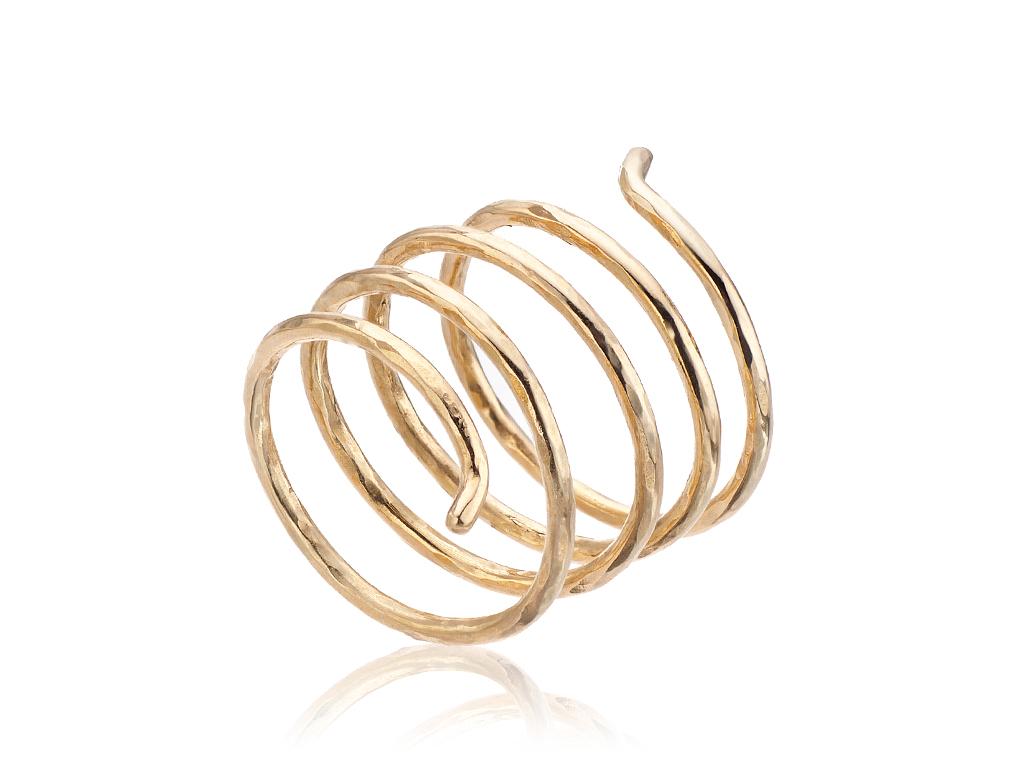 espiral oro lado